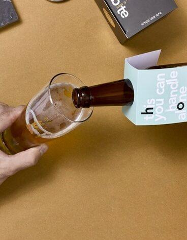 """בקבוק בירה עמק האלה 330 מ""""ל"""